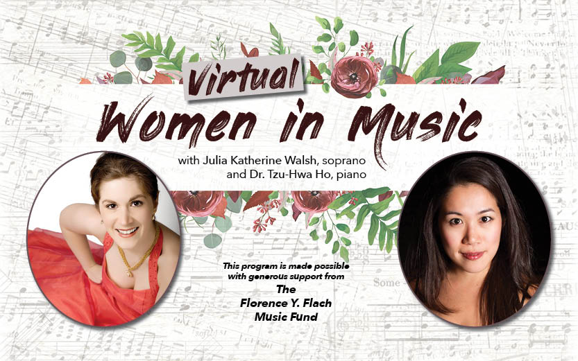 Women in Music Lecture-Recital To Go Virtual