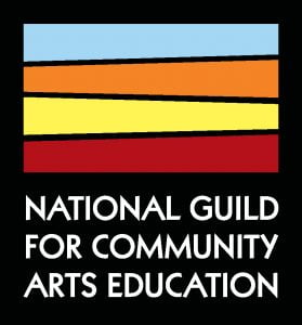 Logo for the National Guild for Community Arts Education