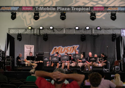 Photo of the CMS Big Band performing at Musikfest