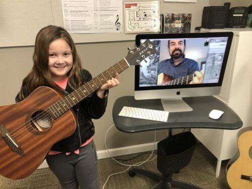 Virtual Guitar Music Lessons