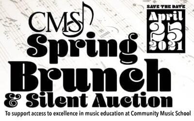 CMS Spring Brunch & Silent Auction Fundraiser – April 25, 2021