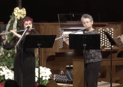Silver Winds Flute Choir Performs in Allen Organ Holiday Concert