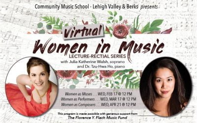 Women in Music Lecture-Recital, 3-Part Series
