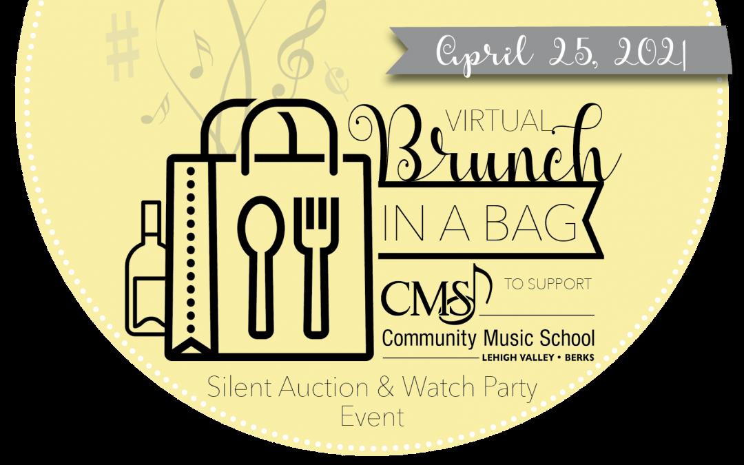 "CMS Virtual ""Brunch in a Bag"" Silent Auction & Watch Party Event – April 25, 2021"