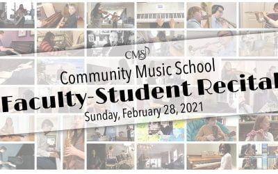Faculty-Student Recital – Feb 28, 2021