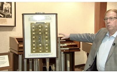 Allen Organ celebrates its creation of the first digital instrument 50 years ago. It all started with the Space Race….